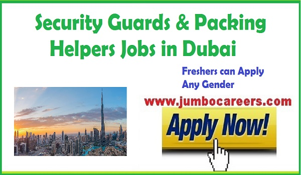 Recent UAE jobs with salary, freshers facility management jobs in Gulf countries,