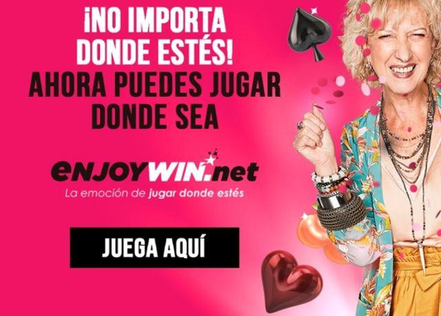 "Enjoy lanza sitio web en formato de ""Casino Social"""