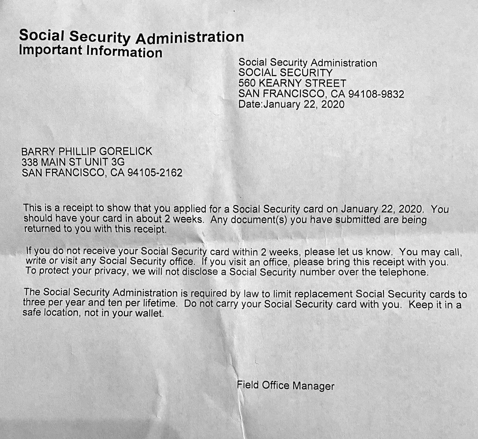2020 Social Security Limit