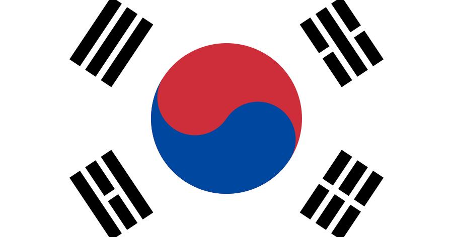 한국에 오신 것을 환영합니다 - A bandeira da Coreia do Sul - Surto Olímpico