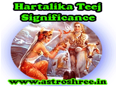 hartalika teej astrology importance