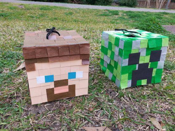 Muyameno Com Pinatas Minecraft