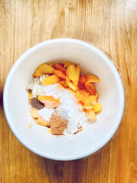 Simple Peach Cobbler