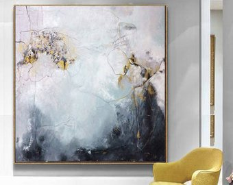 Black And White Gold Paintings