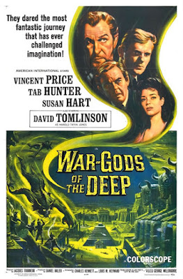 Poster - War-Gods of the Deep (aka City in the Sea, 1965)
