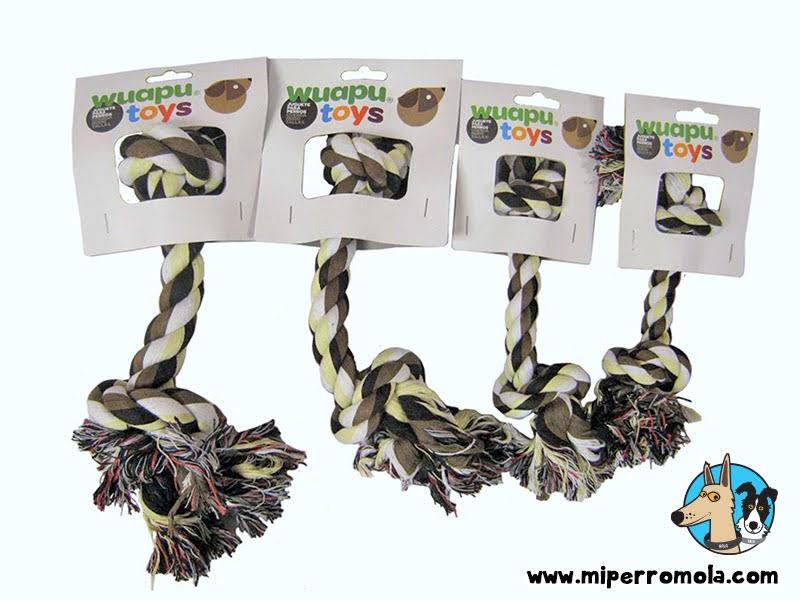 Cuerda mordedor para perro un juguete ideal