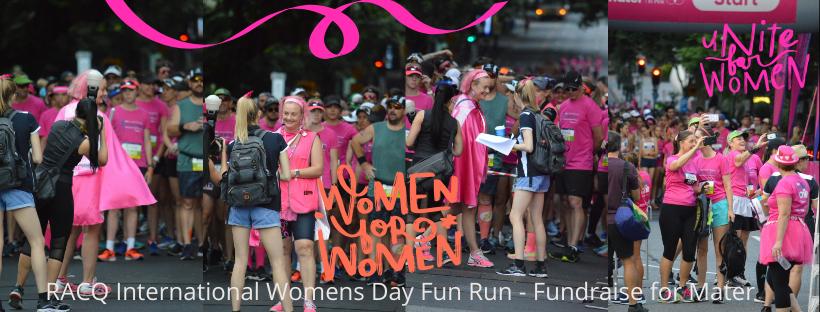RACQ International Women's Day Fun Run