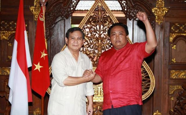 Prabowo dan Arief Puyuono