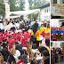 Ribuan Peserta Meriahkan Angklung's Day di Gedung Sate