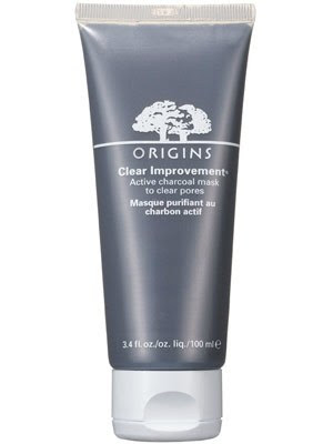 Masker Penghilang Komedo Origins Clear Improvement Active Charcoal Mask To Clear Pores