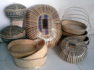 produk kerajinan bambu tasikmalaya