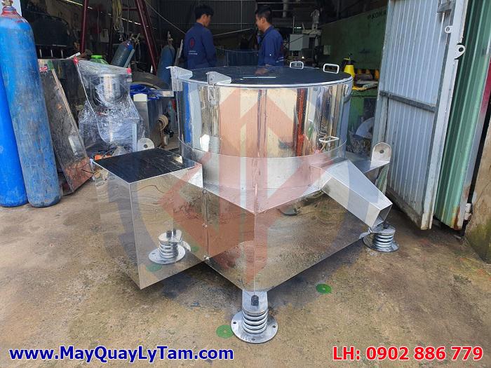 Máy vắt ly tâm inox cho ứng dụng ép nước mắm cá công nghiệp - Cty thủy sản Nha Trang
