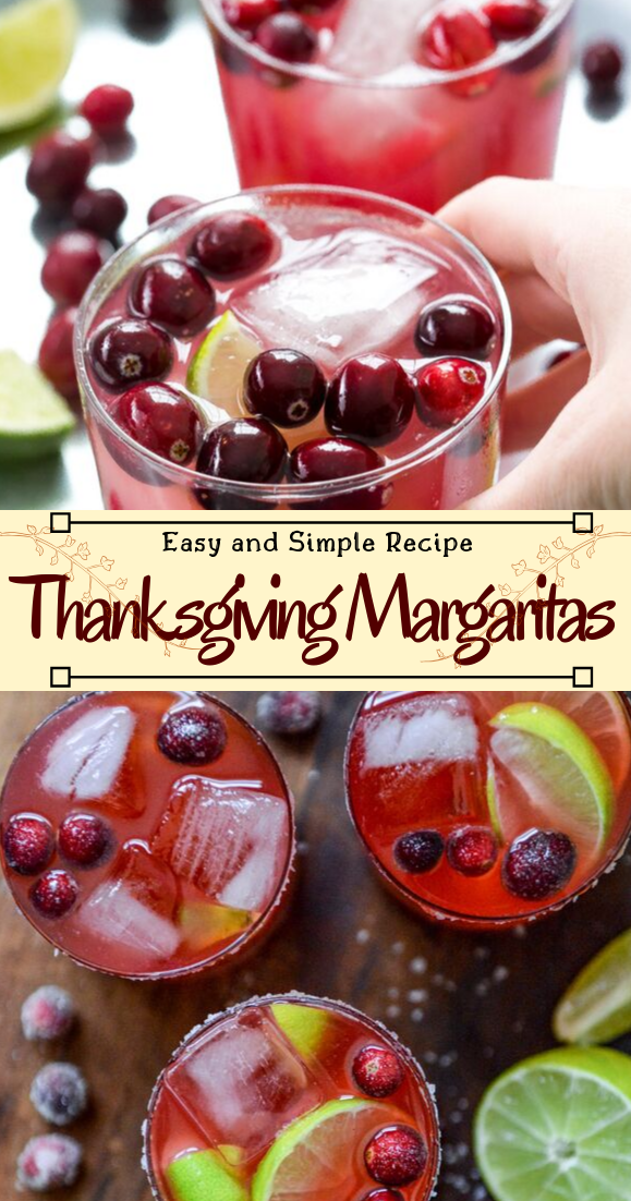 Thanksgiving Margaritas #healthydrink #easyrecipe #cocktail #smoothie