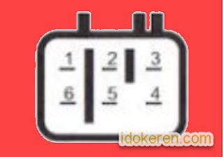 Letak Pin Socket CDI Yamaha Jupiter Z dan Mio