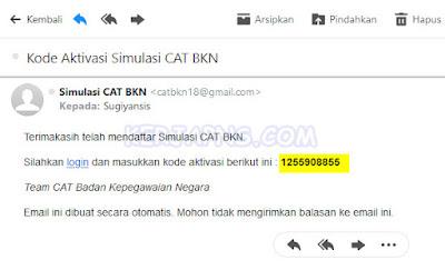 Simulasi CAT BKN