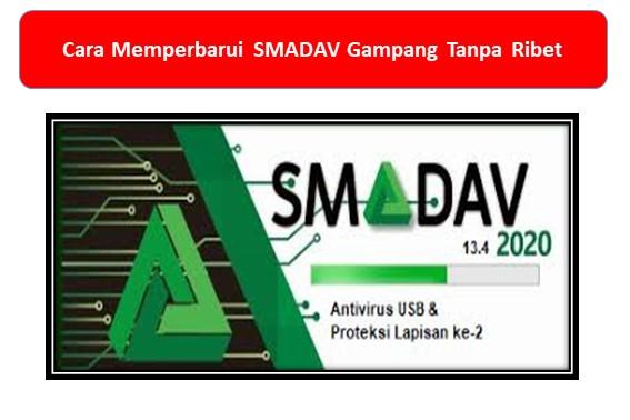 Cara Memperbarui SMADAV