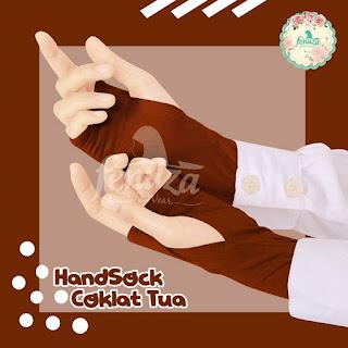 Handstock Fenuza Izzata Coklat Tua