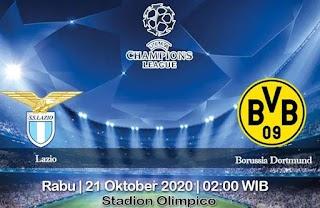 Prediksi Lazio Vs Borussia Dortmund 21 Oktober 2020