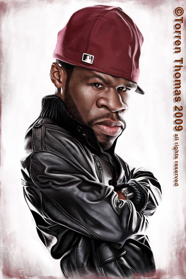 """50 Cent"" por Torren Thomas"