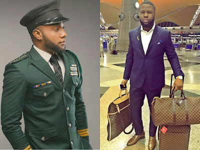 Hushpuppi Comes For Singer Kcee As He Shows Off His Wealth