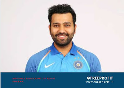 Advance Biography of Rohit Sharma cricketer personal life, career, age, wife, more