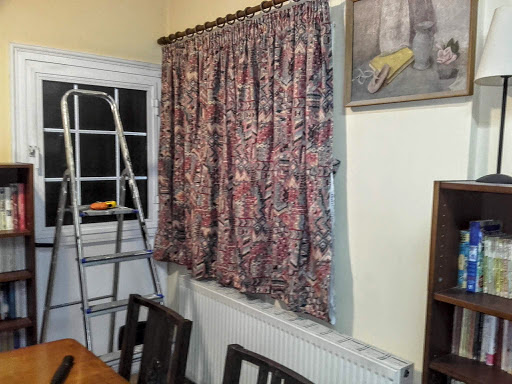 Putting up Curtains in Cyprus