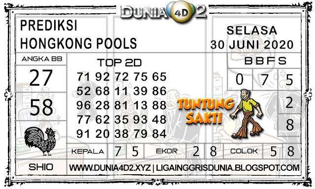 Prediksi Togel HONGKONG DUNIA4D2 30 JUNI 2020