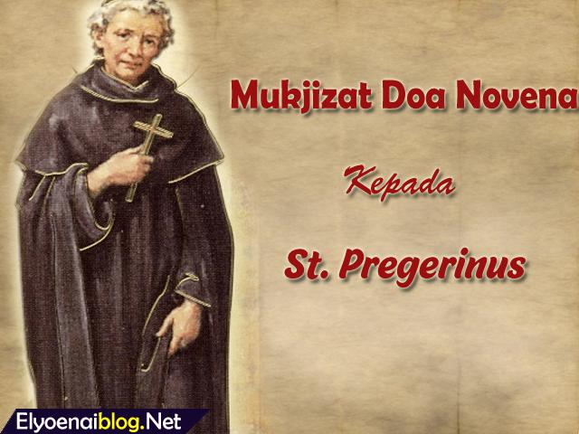 santo pregerinus, mukjizat doa, orang menderita, panduan lengkap doa novena