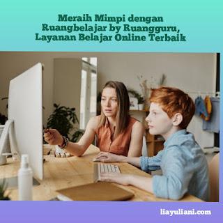 Ruangbelajar, layanan belajar online