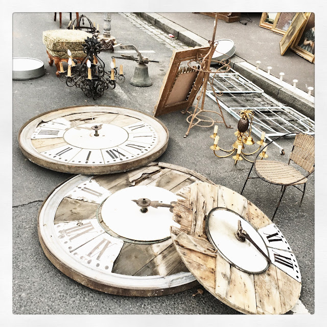 Horloges / Brocante d'Amiens, avril 2016 / Photos Atelier rue verte /