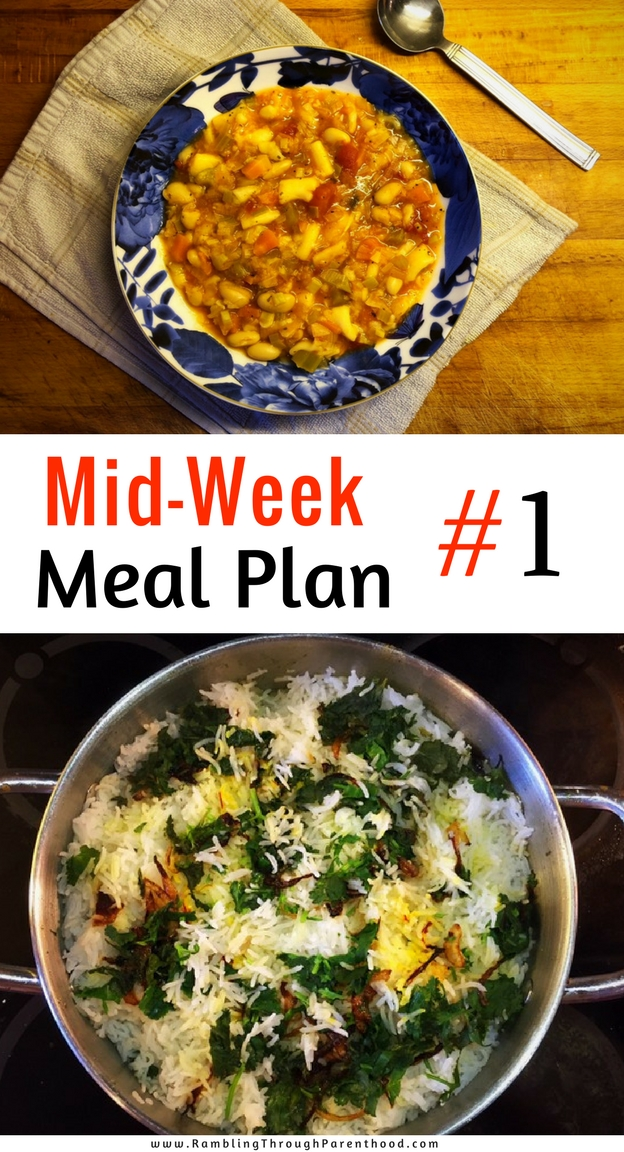 Why does the Universe need to know what we eat as a family? In the hope that it inspires you to make your own meal plans. It is a great way to save time and money, and eat healthy. Another reason why I will be sharing my mid-week meal plans is to debunk some myths around home-cooking.