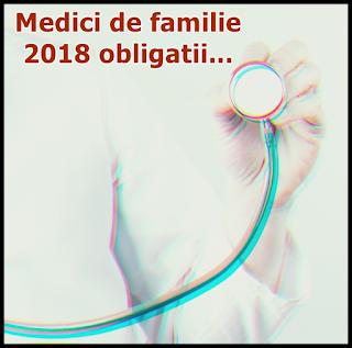 contributii medicii de familie obligatii atributii 2018