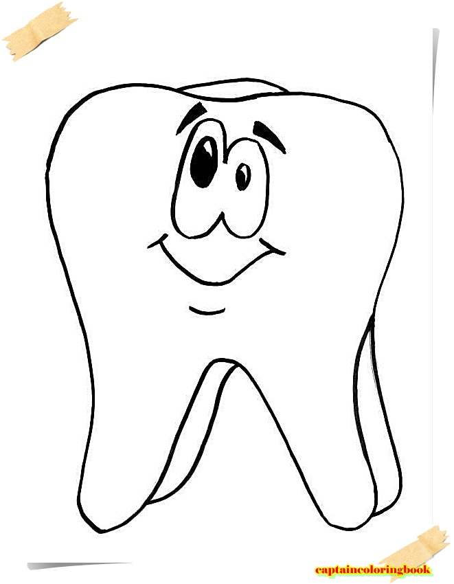 Cleaning Teeth Coloring Pages Jboyle Me Printable Dentist Jobs ... | 850x661