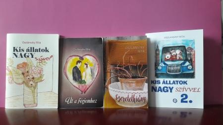 Oszlanszky Rita könyvei