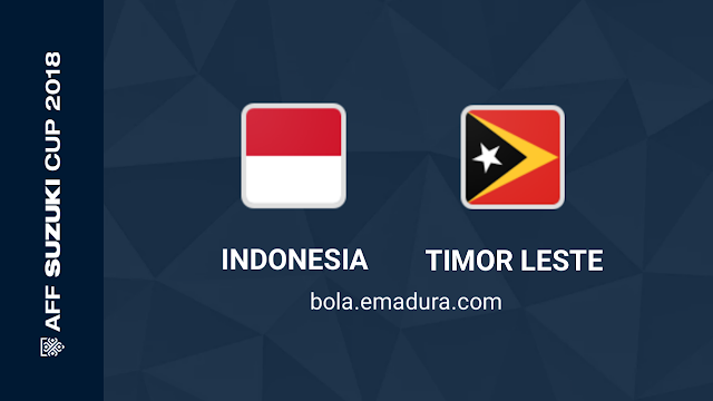 Indonesia vs timor leste piala aff u23 2018