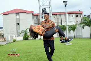 Music Producer EnzyPro & His Bride Adanne Loved Up In Fabulous Pre-Wedding Shoot 13
