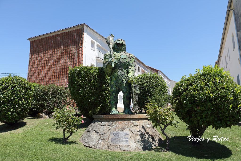 la Estatua del hombre musgo de Béjar