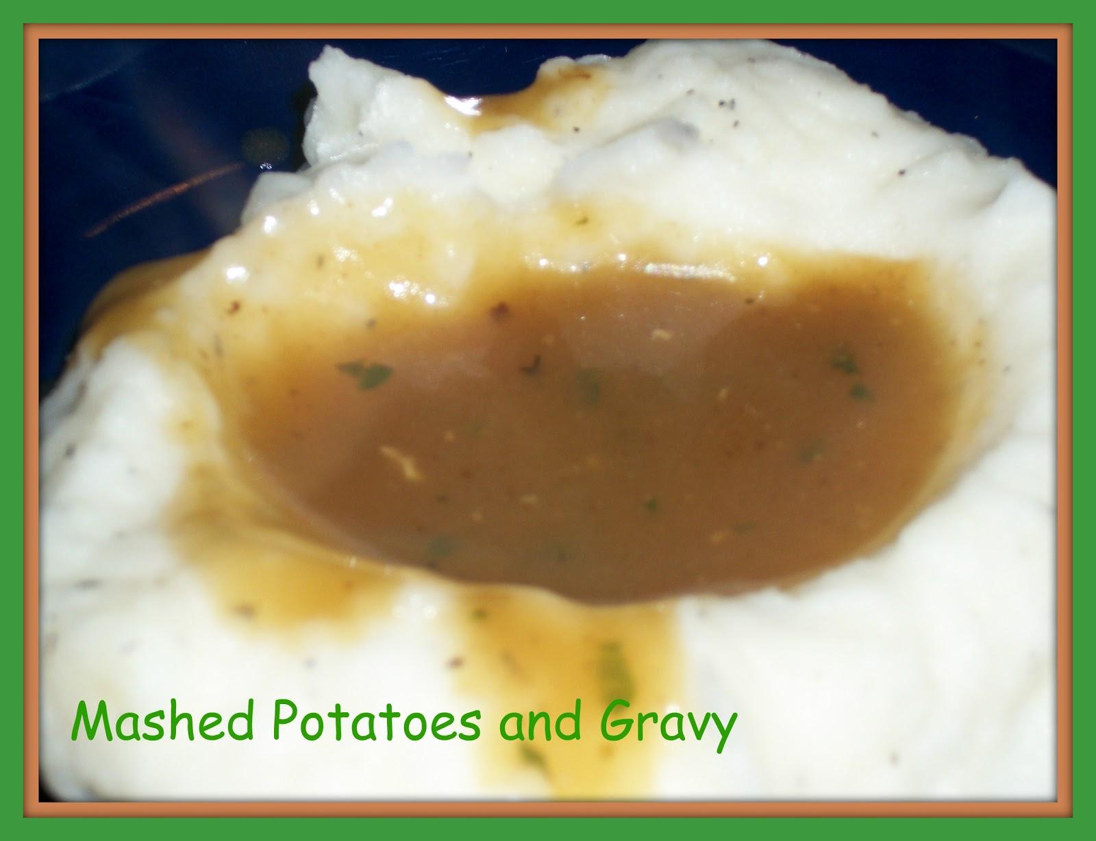 FoodThoughtsOfaChefWannabe: Perfect Mashed Potatoes and Gravy