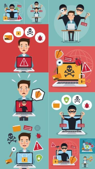 تحميل فكتور لمفهوم حماية البرامج والكمبيوتر بجودة عالية