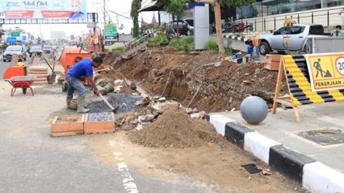 Pedestrian Area Ditambah, Wajah Pusat Kota Payakumbuh Terus Dipercantik