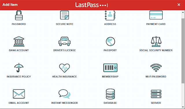 LastPass Features