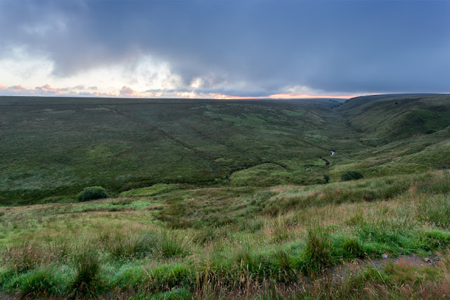 Exmoor National Park in the pre dawn light by Martyn Ferry Photography