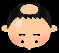 薄毛のイラスト6