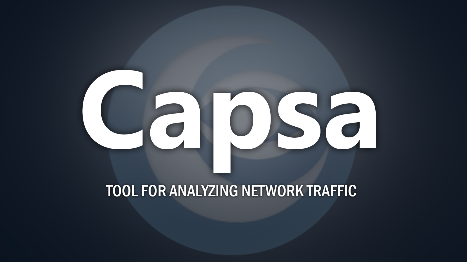 Capsa - Tool For Analyzing Network Traffic