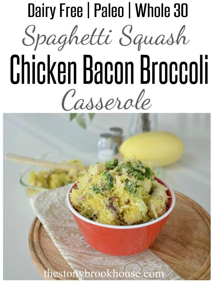 Chicken Bacon Broccoli Casserole