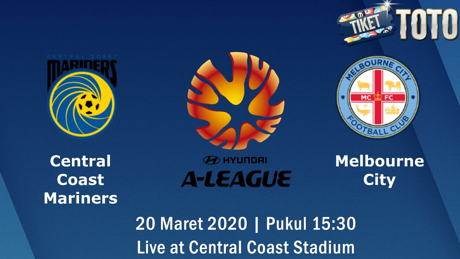 Prediksi Pertandingan Central Coast Mariners vs Melbourne City