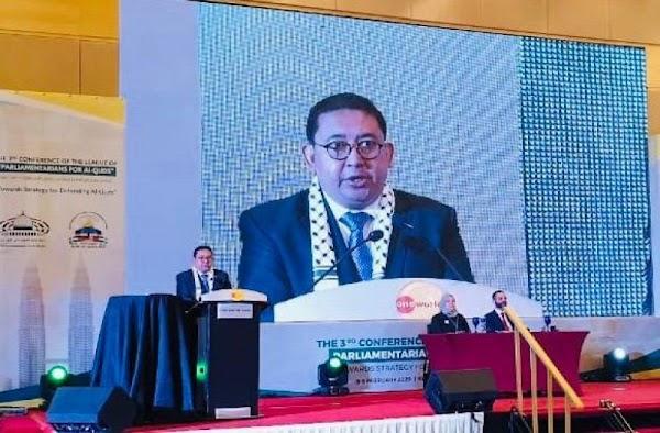 Fadli Zon Jadi Vice President Liga Parlemen Dunia, Perjuangkan Kemerdekaan Palestina