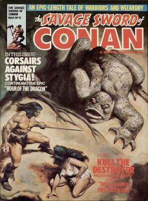Savage Sword of Conan #41