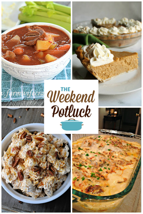 A virtual recipe swap with Slow Cooker Beef Stew, Apple Butter Pie, Caramel Apple Fluff, Creamy Chicken Bake and more!