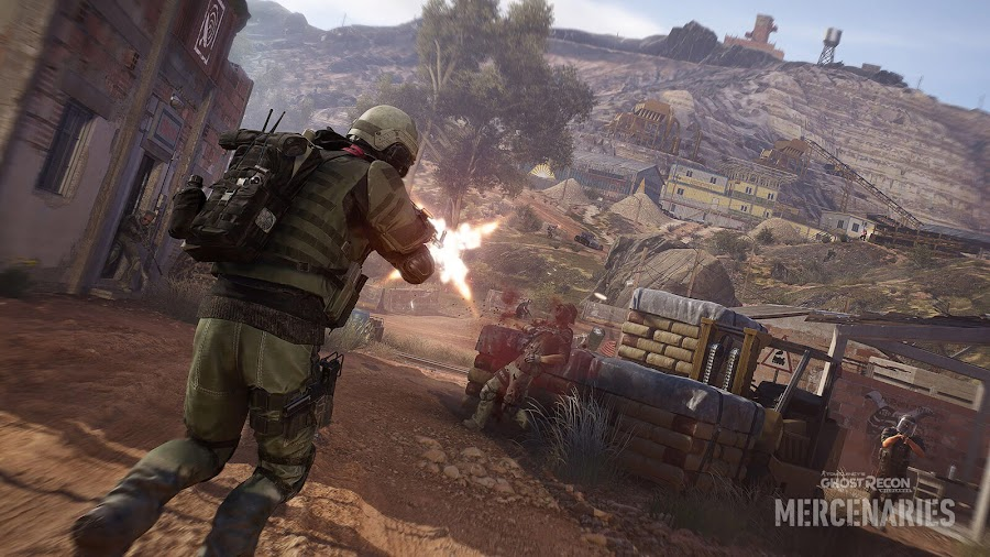 ghost recon wildlands mercenaries mode extraction phase free update